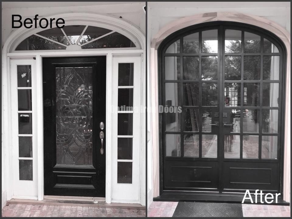 Iron doors made to order, any shape! Premium quality, affordable prices! Call us today for a quote!